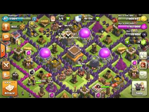 3 star a max th8 with th8 loonion (balloons + minions)