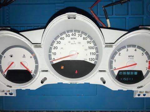 How to repair your Dodge Caravan Instrument Cluster | 2008 2009 2010