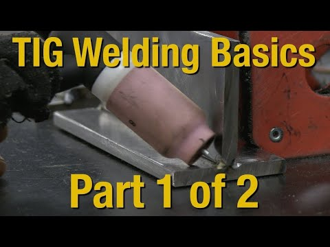 Welding Basics & How-To TIG Weld - Livestream Part 1 of 2 - Eastwood