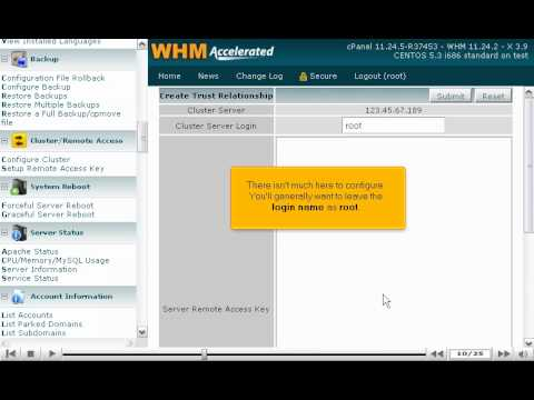 How to configure DNS Clustering across all your WHM servers - WHM Setup Tutorials