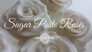 How To Make Gumpaste Sugar Roses For Beginners