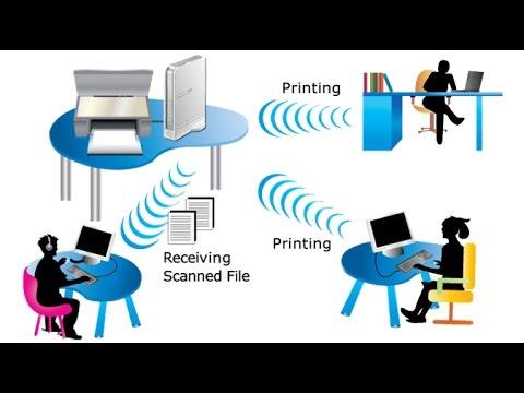 sharing printer dengan IP address