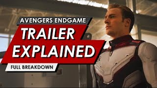 Download Avengers: Endgame Official Trailer Explained #2 | Everything You Missed | NEW MCU MARVEL STUDIOS Video