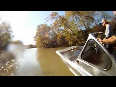 WNC Jet Boating - Tennessee French Broad Run GoPro HD