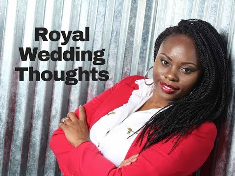Royal wedding thoughts... what happens when you marry someone different from you culturally!