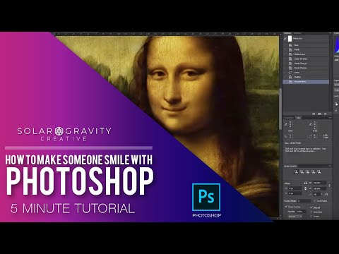 How to Make Someone Smile with Photoshop - Tutorial