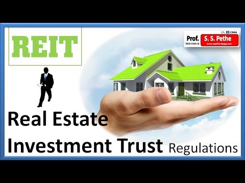REIT = Real Estate Investment Trust Regulations 2014 with amendments 2016