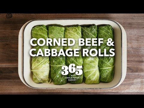 Corned Beef Cabbage Rolls - Recipe Video