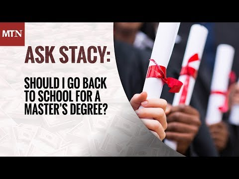Should I Go Back to School for a Master's Degree?
