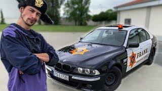 MÓJ NOWY POLICYJNY SAMOCHÓD.  AUTO SZERYFA odc. 1