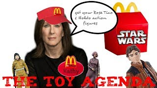 STAR WARS SOLO A STAR WARS STORY & EPISODE 9 TOYS DEAD ON ARRIVAL? & THE TOY AGENDA?