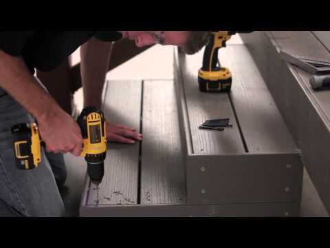TimberTech Cortex® Hidden Fastening System Install