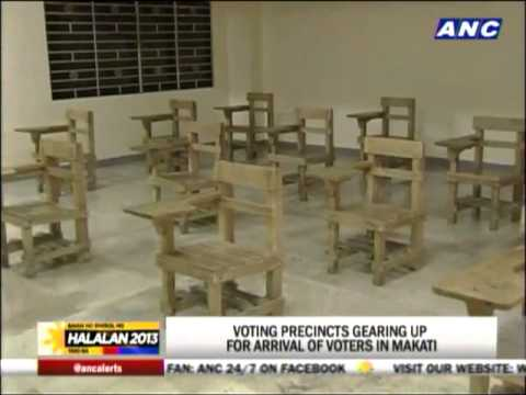 Makati ready for elections