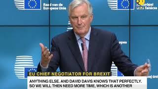 Barnier rules out full EU-UK trade pact