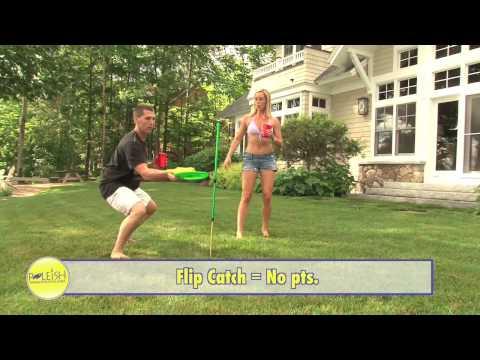 Poleish Sports Bottle Bash The BEST Outdoor Game (aka polish horseshoes, beersbee, frisknock)