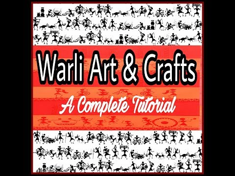 All about WARLI ART & CRAFT || Beginners || Tutorial