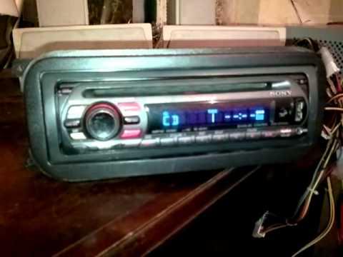 Estereo Sony Xplod CD MP3 USB, AUX