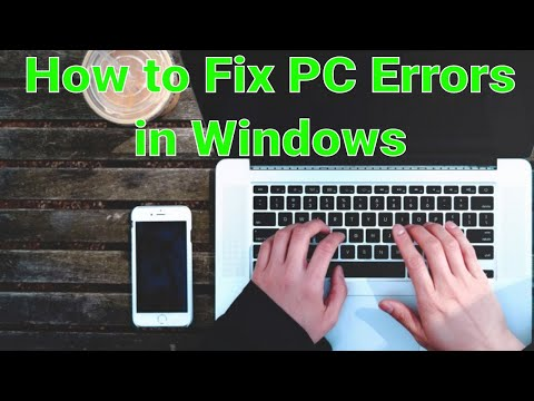 How to Fix PC Errors in Windows