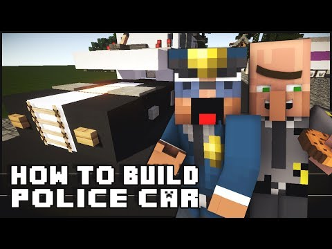 ► Minecraft : How to Make - Police Car