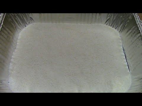 Smoked Salt on the Rec Tec Mini