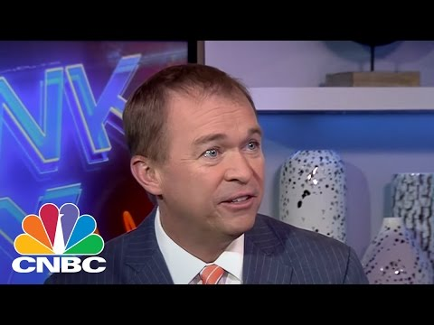 OMB Director Mick Mulvaney: Looking To Get Back To 3% Growth | Squawk Box | CNBC