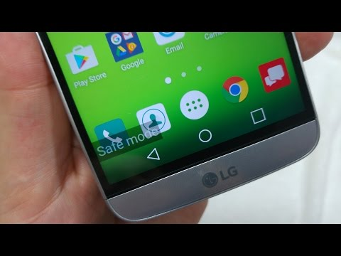 LG G5 how to turn on Safe Mode to troubleshoot app issues