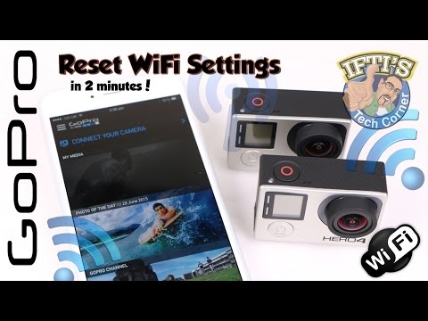 GoPro Hero 4 Black/Silver - Reset WiFi SSID & Password in seconds! - GUIDE
