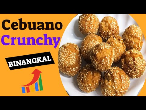 Cebuano Crunchy Binangkal (Sesame Balls) by: Chef Girlie