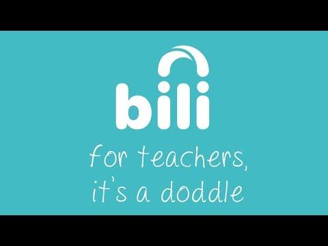 Bili for teachers... It's a doddle!