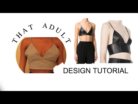 DIY Triangle Crop Top (Sewing)