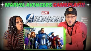Download Marvel's Avengers ″A-Day Prologue″ Gameplay REACTION!!! Video