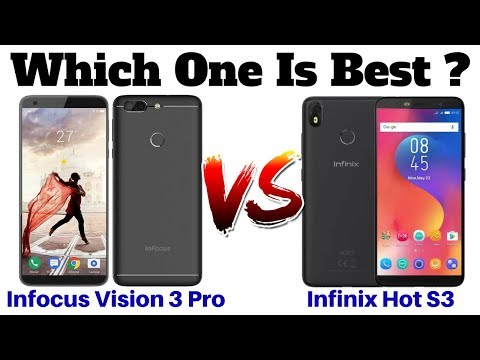 InFocus Vision 3 Pro Vs Infinix Hot S3 | Which One Is Best ?