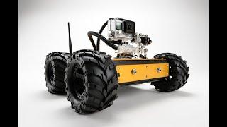 Industrial Inspection Crawler - The Pan/Tilt Minibot