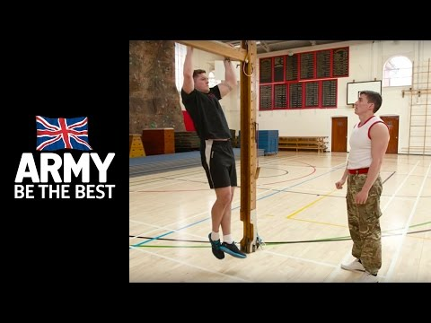 11 Days to get Army Fit: Heaves - Fitness - Army Jobs