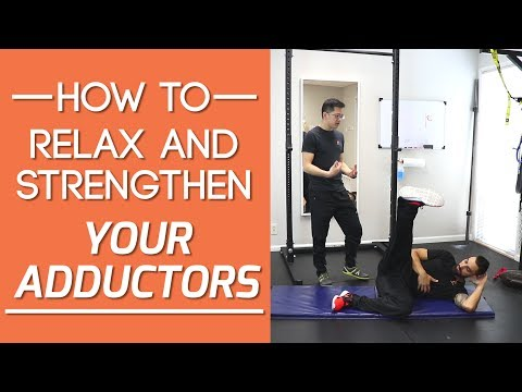 Inner thigh pain? Adductors tight? How to relax AND strengthen the adductors