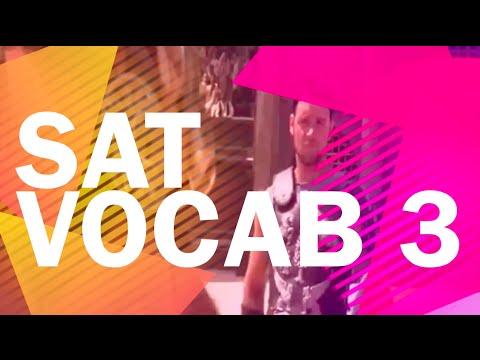 SAT Vocabulary 3 - SAT Words - Better than Memorizing!