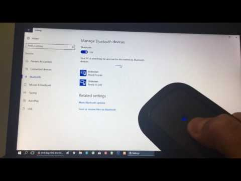 How to pair your bluetooth mouse with your Windows device (PC)