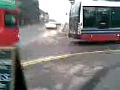national express buses obstructing the road birmingham digbeth