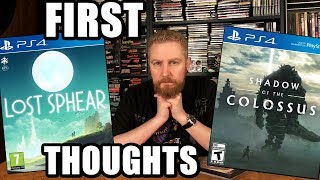 LOST SPHEAR AND SHADOW OF THE COLOSSUS (First Thoughts) - Happy Console Gamer