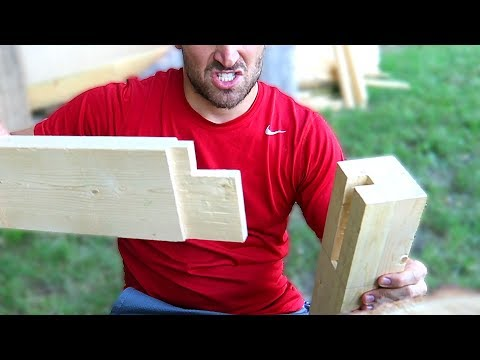 Making My First Workbench  | Part 2 | Making the table legs
