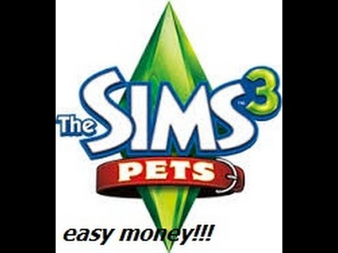 Easy way to get money without cheats in the sims 3 pets for xbox 360