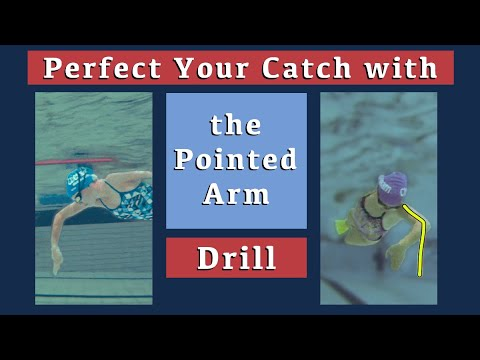 Develop The Perfect Catch with the Pointed Arm Drill