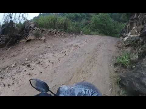 Full on OFFROAD Bike ride on the way to chitlang