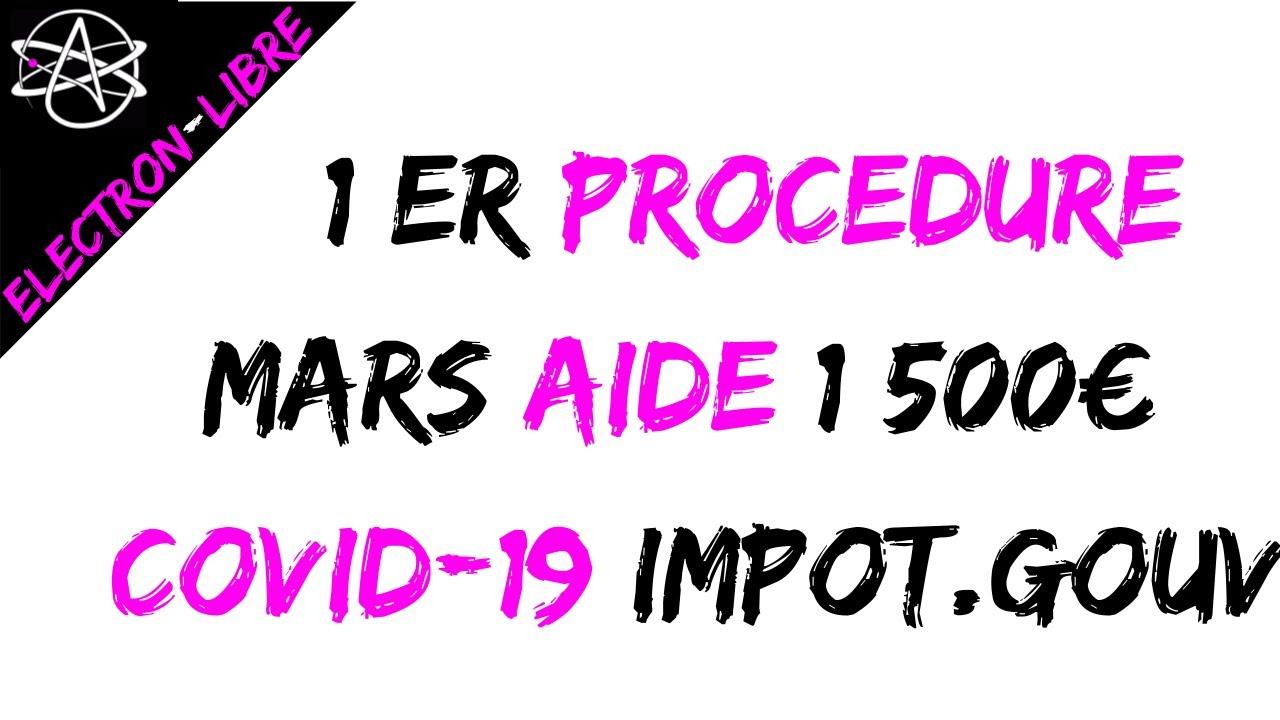 1 ER DEMANDE D'AIDE COVID-19 POUR LES ENTREPRISES EN DIFFICULTÉ