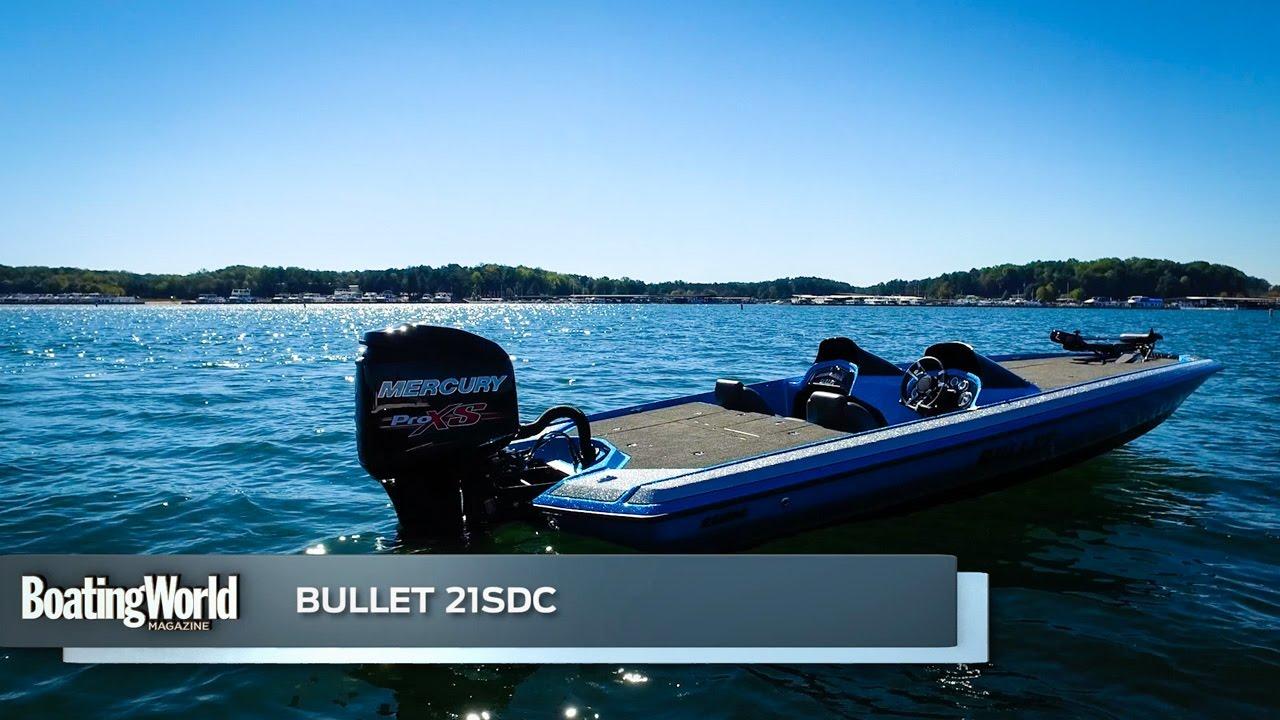 Bullet 21SDC – Boat Test