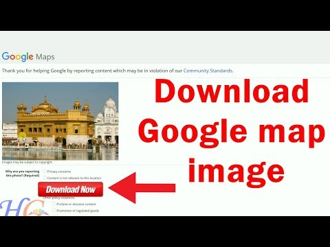 How to save or Download google map image in high resolution