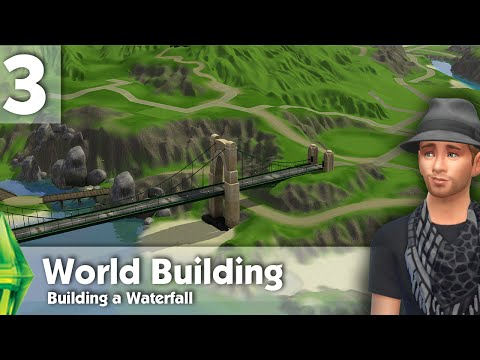 The Sims 3: World Building - Building a waterfall