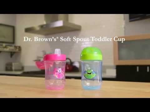 Training Cup - Dr. Brown's Soft Spout Toddler Cup