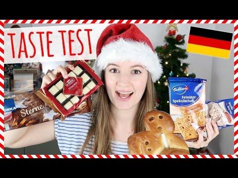 German Christmas Food Taste Test!