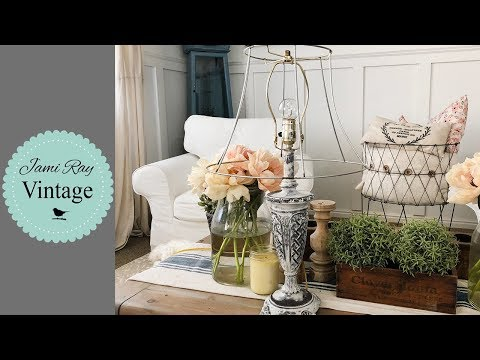 Lamp Makeover | Quick Tip